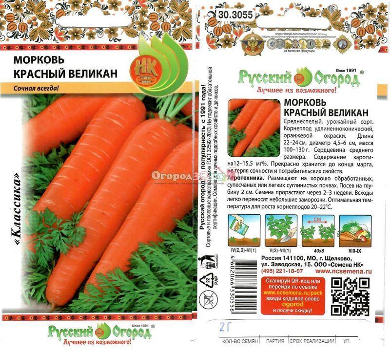 Лучшие сорта моркови без сердцевины