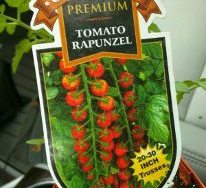 Упаковка семян томата Рапунцель
