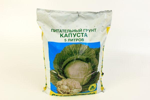 Готовый грунт для капусты