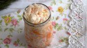 Квашеные цветная и белокочанная капуста – пошаговый рецепт