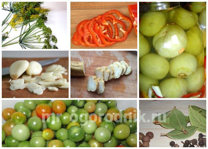 Маринованные помидоры перец
