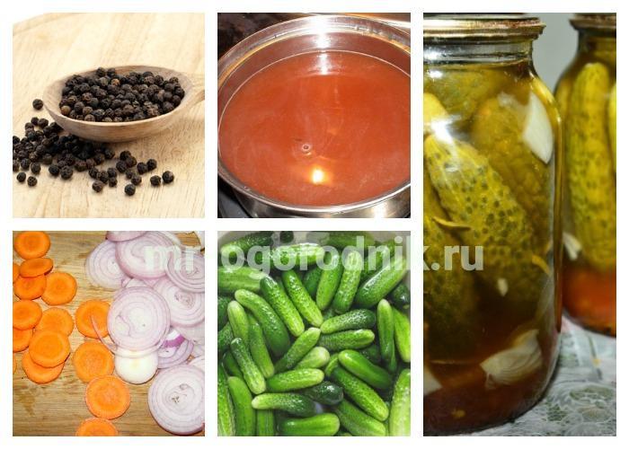 Огурцы с кетчупом без стерилизации