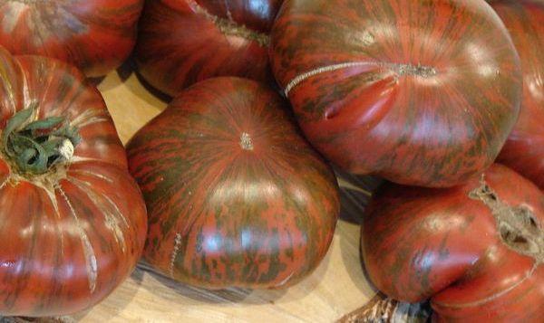 Помидоры сорта Полосатый шоколад
