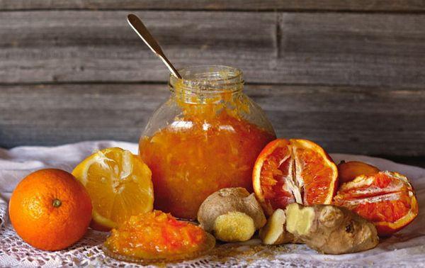 Варенье из имбиря, лимона и апельсина