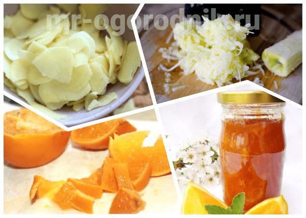 Варенье мандарины и имбирь