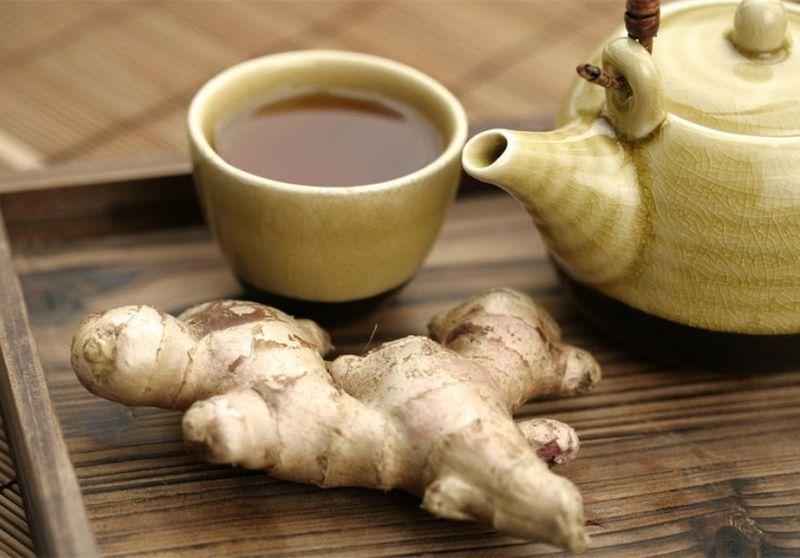 Имбирный чай с лимоном и корицей
