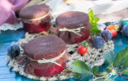 Маринад для мяса из томатов и слив