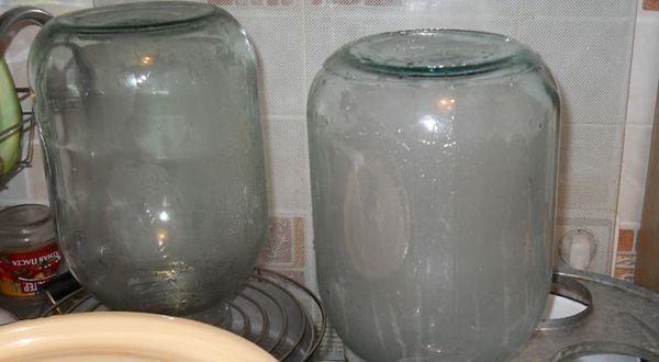 Стерилизация банок для компота