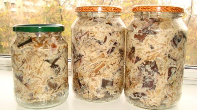 Баклажаны как грибы с майонезом