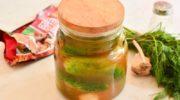 Огурцы с кетчупом - хрустящая закуска на зиму