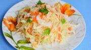 Сочная квашеная капуста быстрого приготовления - фото рецепт