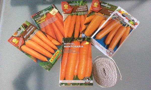 Сорта зимней моркови