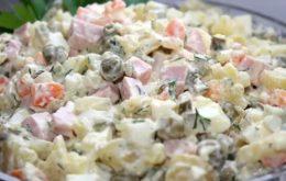Рецепты салата оливье