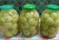 Рецепт моченых яблок на зиму