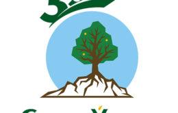 Логотип питомника Сады Урала