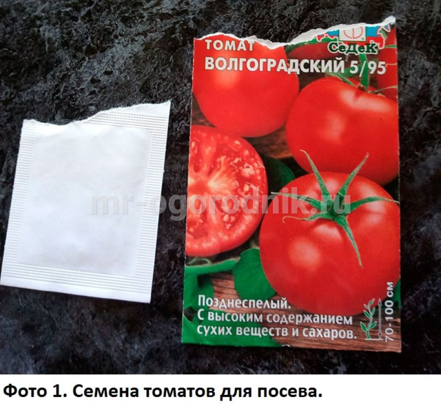 Семена томата Волгоградский